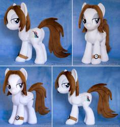 Bee OC Pony Plushie by ButtercupBabyPPG
