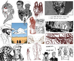 World of aketches by senes