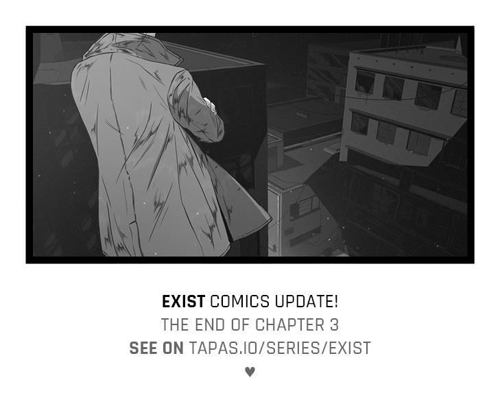 'Exist' comics update! by senes