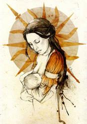 Elia Martell by elia-illustration