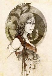 Visenya Targaryen by elia-illustration