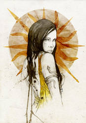 Arianne Martell by elia-illustration