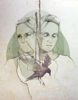 Agnes Obel by elia-illustration