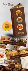 Cafe Menu Indesign Template by antyalias