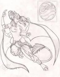 LOK Alix Sketch by StangWolf
