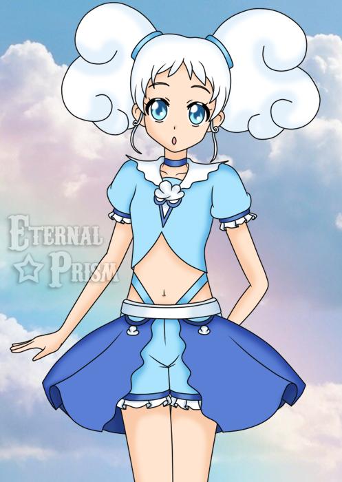The sky's the limit - Sailor Kumo by EternalPrism