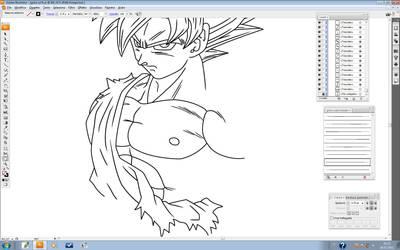 Goku ssj fs by maffo1989