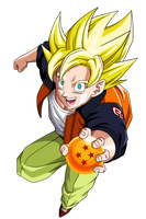 Ssj Goku Casual Clothes by maffo1989