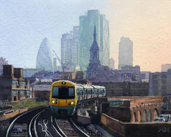 View from Hoxton Station by treeshark