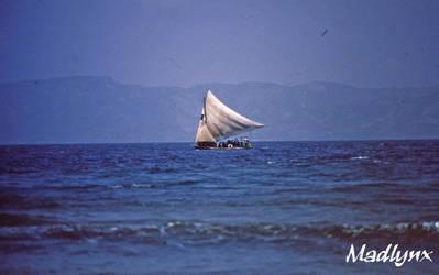 Haiti Sailboat by madlynx
