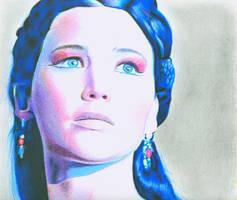Katniss Everdeen by brandonBK