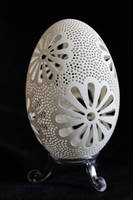 some new carved goose eggs by peregrin71