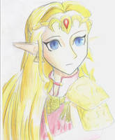 Zelda by aoirukitsune