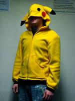 Pikachu Hoodie by ChompUnchained