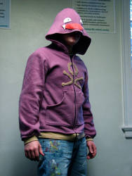 Koffing Hoodie Closeup by ChompUnchained