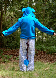 Marill Hoodie back by ChompUnchained