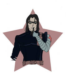 Winter Soldier (animated) by lecoeurblanc
