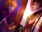 ICHIGO vs KENPACHI by SantaFung