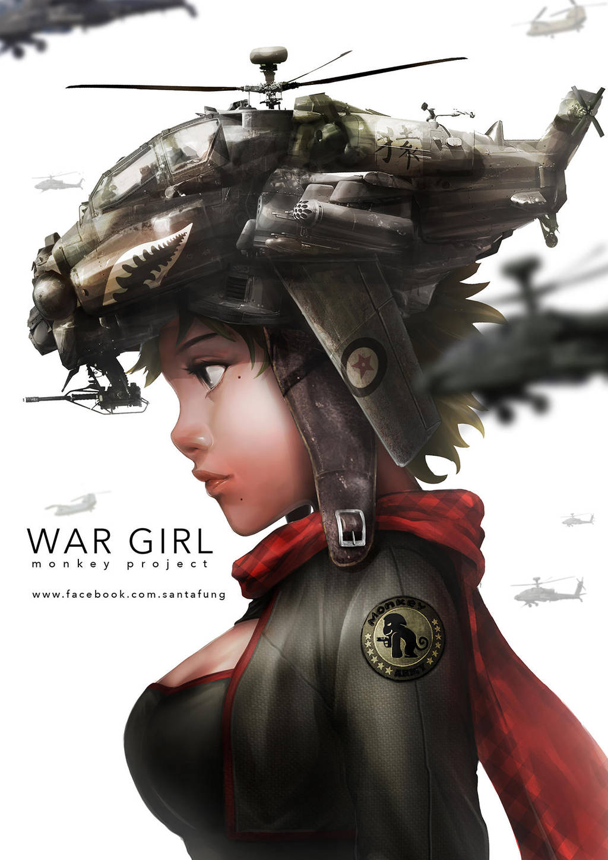 WAR GIRL by SantaFung