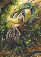 Dragon Vine by windfalcon