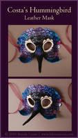 Costa's Hummingbird - Mask by windfalcon