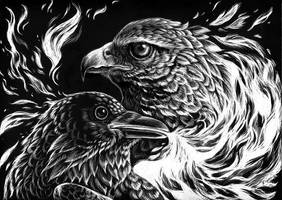 Firebirds by windfalcon