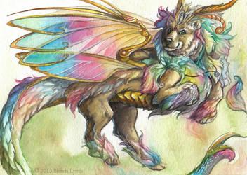 Rainbow Flight by windfalcon