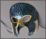 Peregrine Falcon - Leather Mask by windfalcon