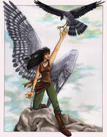 Angel Series - Vitani by windfalcon