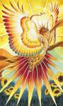 The Sun - 78 Mythical Tarot by windfalcon
