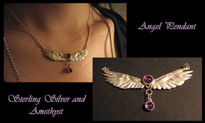 Angel Pendant by windfalcon