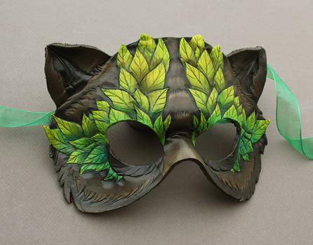 Leafy Bear Mask by windfalcon