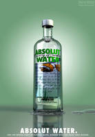 Absolut Water by ChrRambow