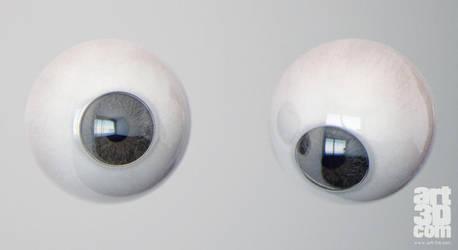 Free realistic Eye model by ChrRambow