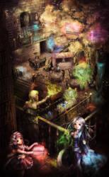 huge magical Labyrinth by Harukim
