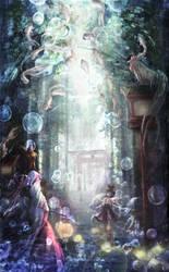 the path of Kamisama by Harukim
