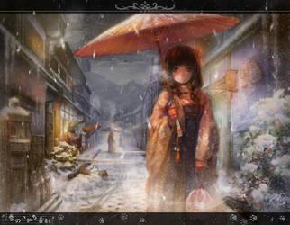 yuki-no-komichi by Harukim