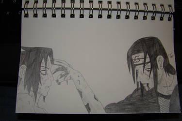 'Yuruse, Sasuke.' by iconxraven