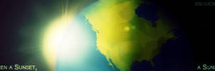 When a sun RISE, a sun SET. by GlidaSoul