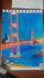 530 ~ Golden Gate Bridge by Kruk117
