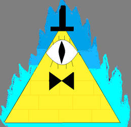 Bill Cy the triangle guy by The24thDoctor