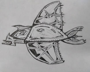 Random sketch by MerkavaDragunov