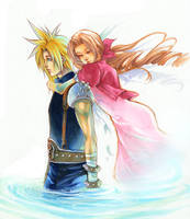 FFVII_Don't Cry by Ecthelian