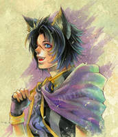 Dante the Cat by Ecthelian