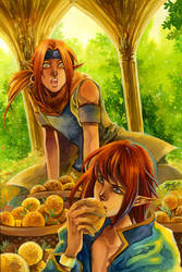 Don't Steal My Orange by Ecthelian