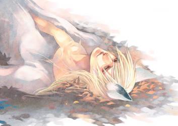 White Fall by Ecthelian