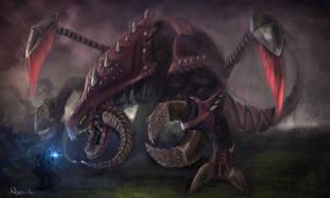 Cho'gath vs Ryze by Nyra119