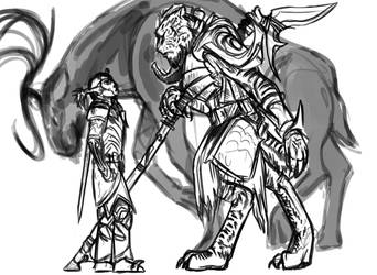 Rough of a Ka Po'Tun by ShoutFinder
