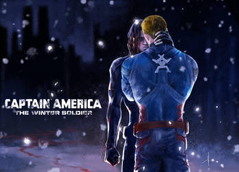 Captain American The Winter Soldier by WuLiao-Yuzi