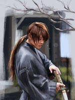 Rurouni Kenshin by PolliPo